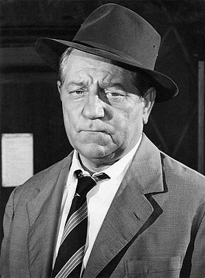 Jean Gabin - Jean Gabin as Jules Maigret in 1958