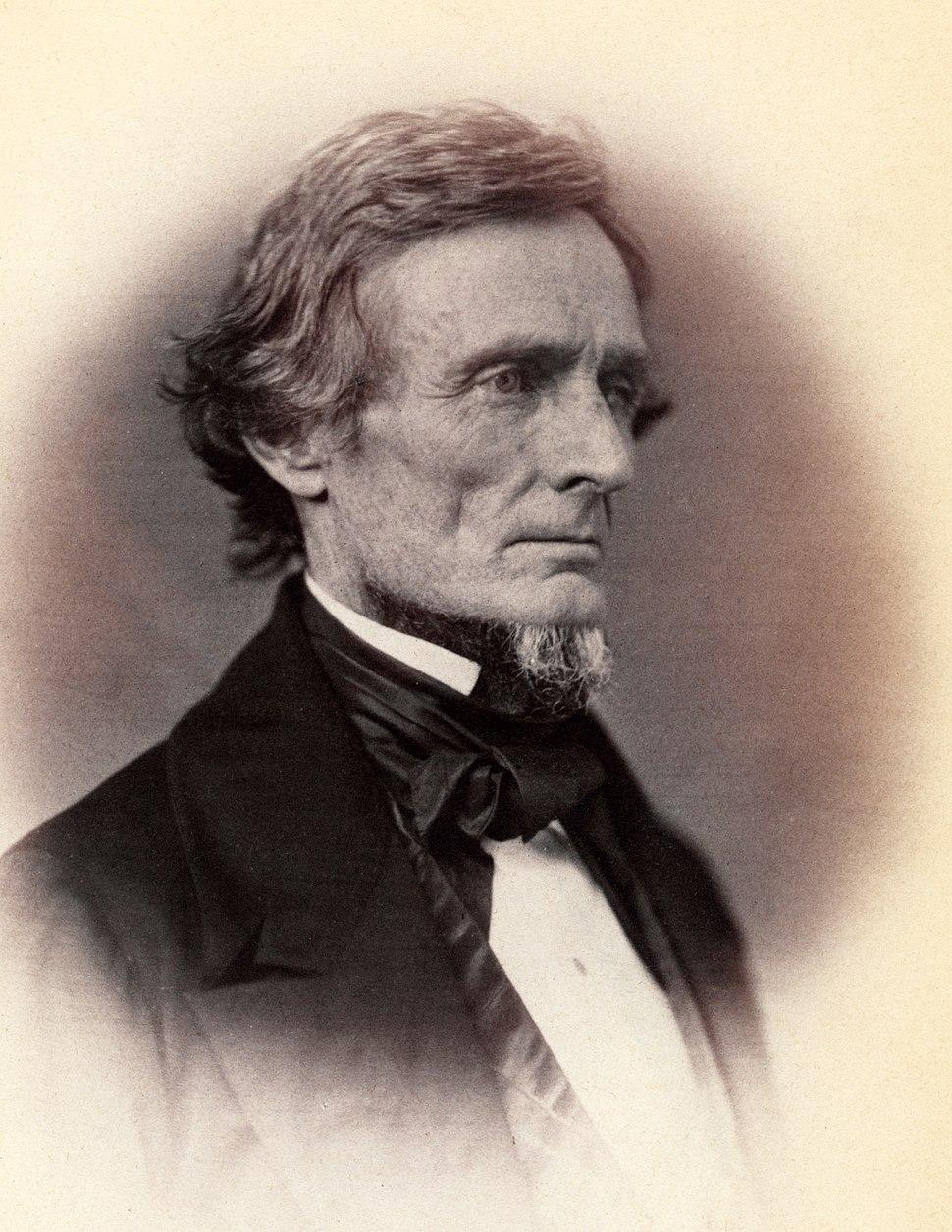 Jefferson Davis by Vannerson, 1859