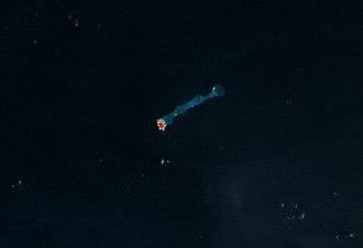 Jemo Island - NASA picture of Jemo Island
