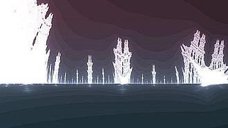 Burning Ship fractal - Image: Jentererforetrukket