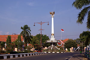 Jepara - Jepara Monument near the city square