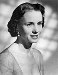 Publicity photo of Jessica Tandy in the 1950s.