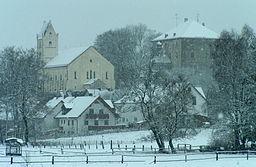 Jetzendorf: Castle i church