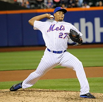 Jeurys Familia - Familia with the New York Mets in 2015