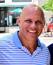 Jim Leyritz at Baseball Hall of Fame Weekend July 2019.jpg