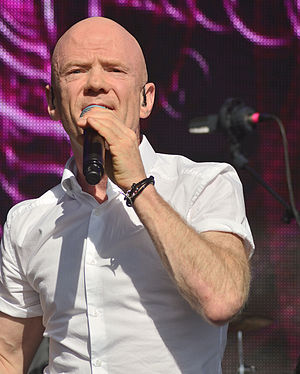 Jimmy Somerville - Somerville at Let's Rock Bristol 2015.