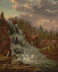 Norsk landskap, Rogna vannfall