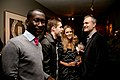 John Appiah, James Roscoe (UN), Clemency Burton-Hill (BBC) and Nick Denton.jpg