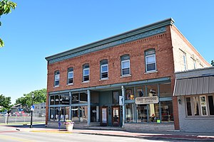 National Register of Historic Places listings in Brown County, Wisconsin - Image: John Baeten Store, De Pere, WI