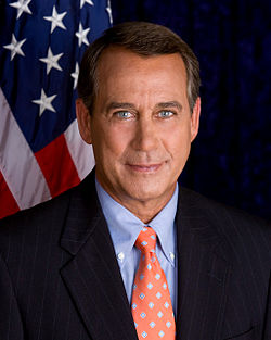 Official portrait of John Boehner. Image: US House of Representatives.