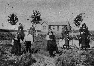 Shelley, Idaho - Image: John F Shelley Family