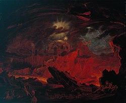 John Martin: Fallen Angels in Hell