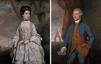 Barwick, Somerset - John and Grace Newman (Thomas Beach, 1768)