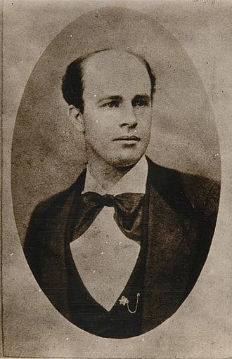 John Clum - John P. Clum c 1880