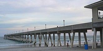 Wrightsville Beach, North Carolina - Johnnie Mercer's Pier