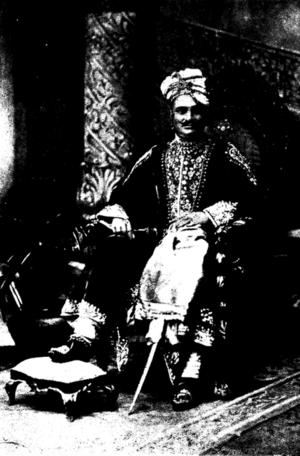 Sant State - Joravarsingh, ruler of Sunth State c. 1922