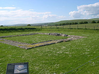 Romano-Celtic temple - Jordan Hill Romano-Celtic Temple
