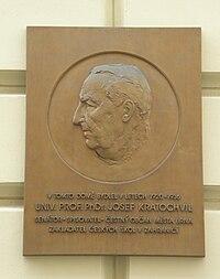 Josef Kratochvil - Silingrovo namesti, Brno.JPG