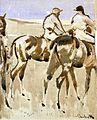 Joseph Crawhall - American Jockeys Or Racehorses.jpg