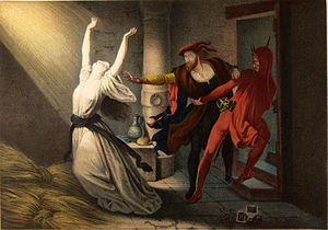 Joseph Fay - Faust and Mephisto in the Dungeon