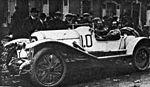Joseph Sadi-Lecointe, vainqueur de l'épreuve de vitesse de la première des 'Journées Léon Bollée' fin octobre 1920 au Meeting du Mans sur Rolland-Pilain.jpg