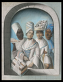 Joseph Savart, Quatre femmes créoles, Guadeloupe, 17 octobre 1770, Musée départemental Victor Schoelcher.png