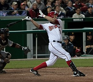 Josh Bard - Bard with the Washington Nationals