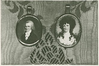 Josiah Ogden Hoffman - Josiah Ogden Hoffman and his wife