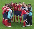 Joueuses d'Arras Football féminin (vs Lyon).jpg