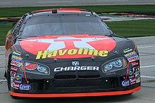 Montoyas 2007 NASCAR NEXTEL Cup Car At Texas
