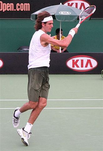 Juan Martín del Potro - Del Potro at 2007 Australian Open