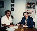 Juan Henao y Harry Garland en Medellín, Colombia.jpg