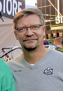Jukka Jalonen Finnish ice hockey coach and former player
