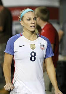 Julie Ertz association football defender, 2014 NWSL Rookie of the Year