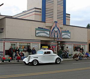 Junction City, Oregon - A car show in Junction City