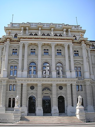 Judiciary of Austria - The Palace of Justice, seat of the Supreme Court of Justice since 1881