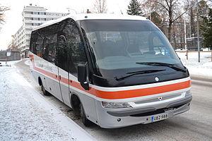 Midibus - Iveco Indcar Mago 2 midibus in Jyväskylä, Finland