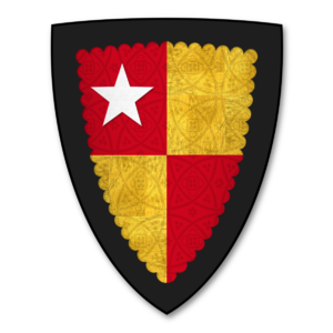 "De Vere family - Image: K 037 Coat of Arms VERE Hugh de Vere (""Huë de Ver"")"