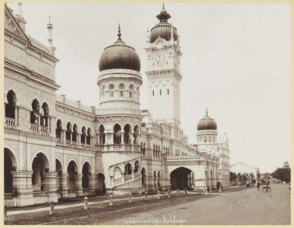 KITLV - 3652 - Lambert & Co., G.R. - Singapore - Governmental Office at Kuala Lumpur in Selangor - circa 1900