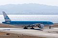 KLM Royal Dutch Airlines ,KL868 ,Boeing 777-306-ER ,PH-BVA ,Departed to Amsterdam ,Kansai Airport (16475560299).jpg