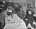 KVP-vrouwenkaderdag vlnr Minister M Klompé, mejuffrouw A Nolte, voorzitter, Bestanddeelnr 910-1548.jpg