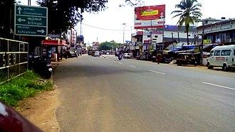 National Highway 744 (India) - Image: Kadappakada Junction, Kollam
