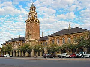 Kalgoorlie - Kalgoorlie Court House, Hannan Street