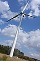 Kanami-chan, the 3rd community wind power of Ishikari - panoramio.jpg