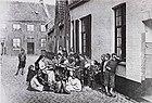 Kantklossters, Koolbranderstraat, Brugge