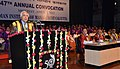 Kapil Sibal addressing at the 47th Annual Convocation of Indian Institute of Management (IIM), Joka, in Kolkata on April 02, 2012.jpg