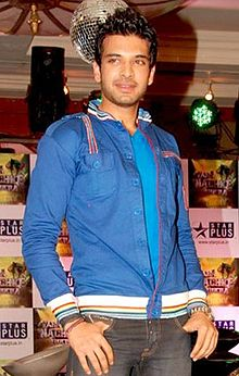 Karan Kundra at the launch of Zara Nachke Dikha.jpg