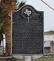 Karankawa Indian Campsite Marker in Jamaica Beach, Texas.jpg