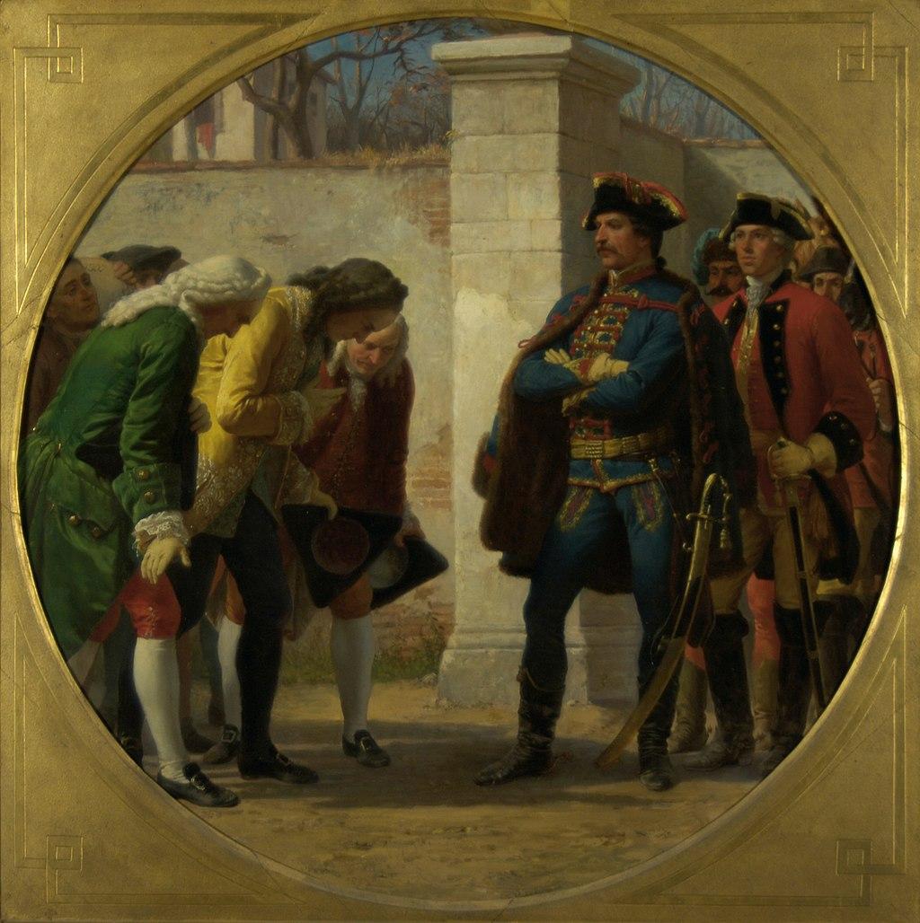 Karl von Blaas - Der Überfall auf Berlin 1757 - 2738 - Kunsthistorisches Museum.jpg