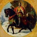 Karl von Blaas - Kriegszug Albrechts I. über den Semmering 1292 - 2724 - Kunsthistorisches Museum.jpg